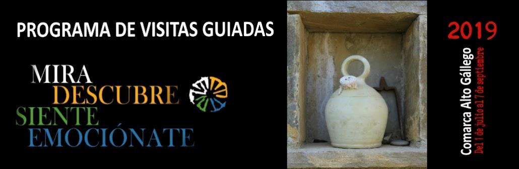 Programa Visitas Guiadas Comarca Alto Gállego 2019