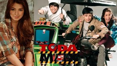 Angel Locsin, Vhong Navarro, Robin Padilla and Pokwang of Toda Max