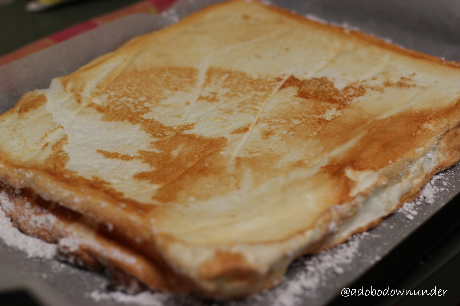 how to make custard cake filling