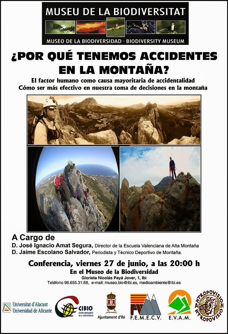Conferencia seguridad en montaña