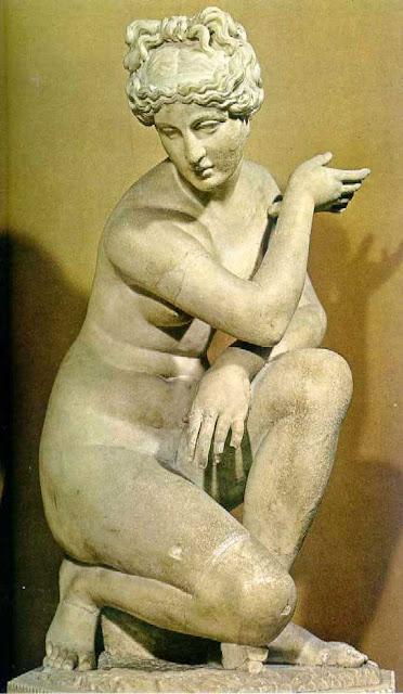 La mujer que fue escultura. Las esculturas griegas más famosas.