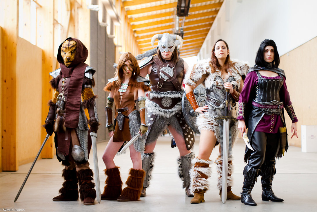 10 skyrim cosplay costumes - creative cosplay designs