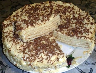 Сметанный торт вкусно дома