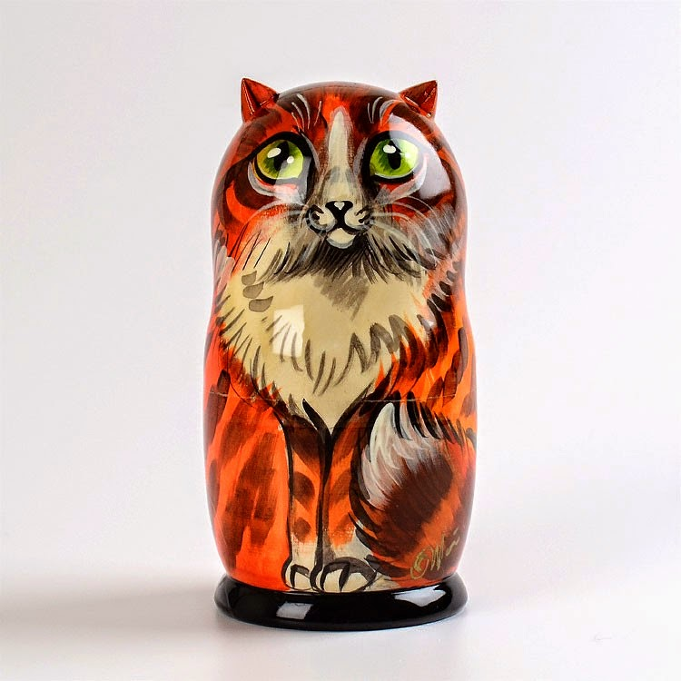 Cats Nesting Doll from Russia