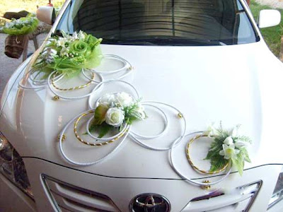 Wedding  Decorations on Decorating Wedding Cars With Flowers   Wedding Concept