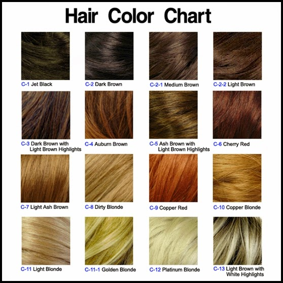 Hot hair colors hairstyles hair cuts colors in 2017 hair color chart urmus Images
