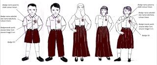 seragam SD, seragam, sekolah SD, Permendikbud  No.45 Tahun 2014