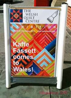 Welsh Quilt Centre Exhibition - Kaffe Fassett Quilts