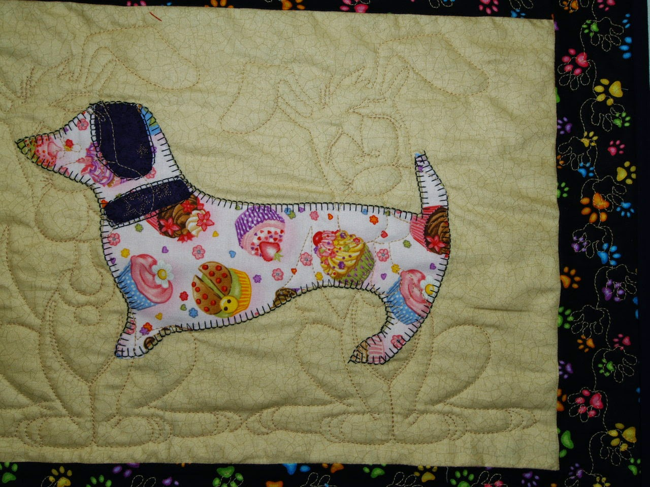 Jessica Hudon's Doggie Quilt