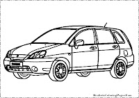 Suzuki Matina coloring page