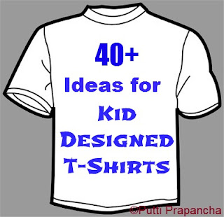 Kids designed Shirts