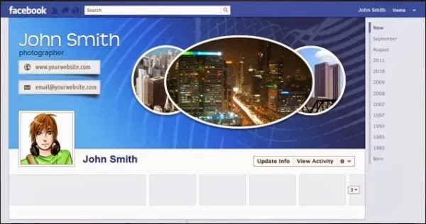 facebook timeline template 10 free and cool templates to