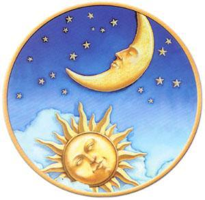 Worksheets Sun Moon And Stars sunmoonstars jpg many years ago there was daylight throughout the no night because sun and moon were always together