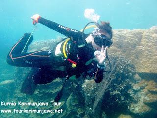 olahraga diving di karimun jawa