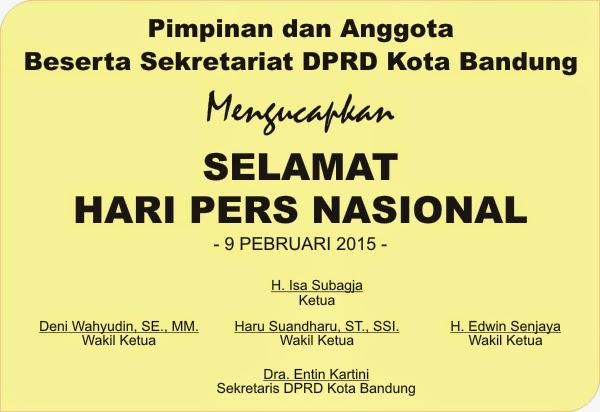 Hari Pers Nasional 2015