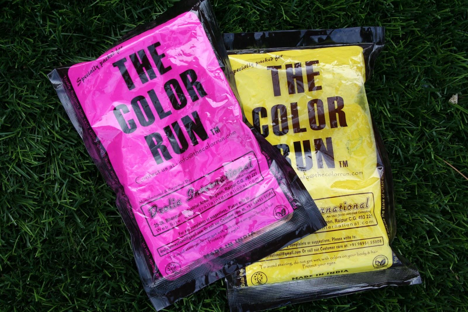 Flibbertigibberish Color Run Color Fun Color Packets