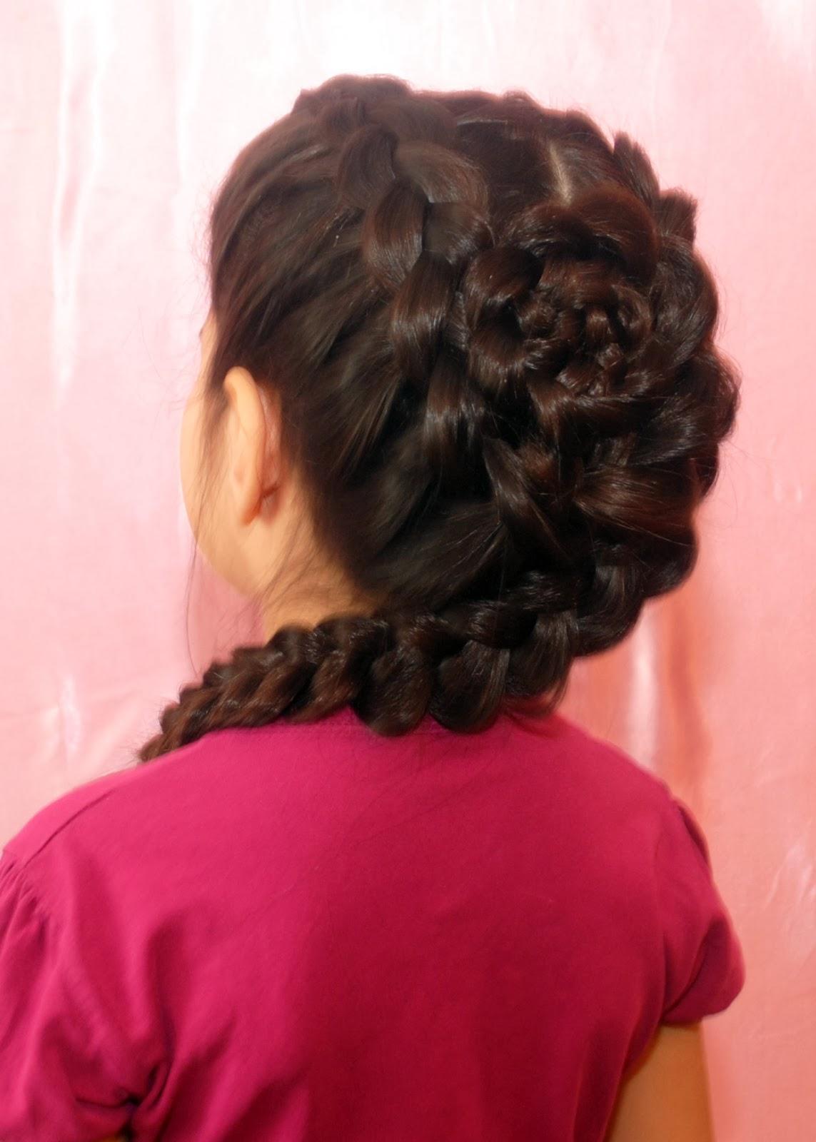 Прически для девочек один коса