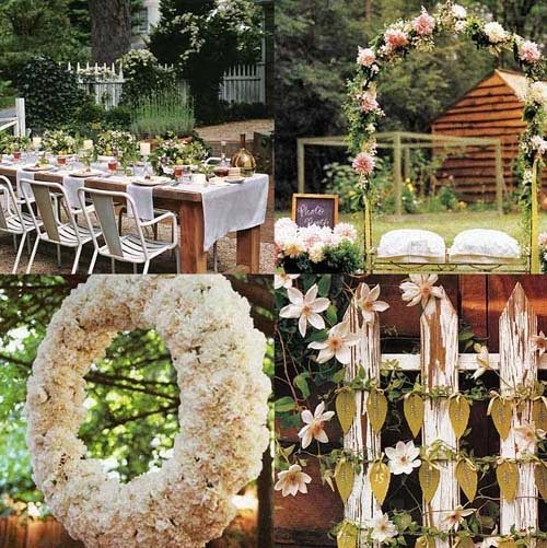 2015 outdoor wedding decorations ideas - Garden wedding decorations pictures ...
