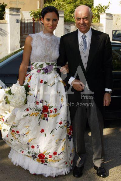 Vestidos de novia con tela de fallera