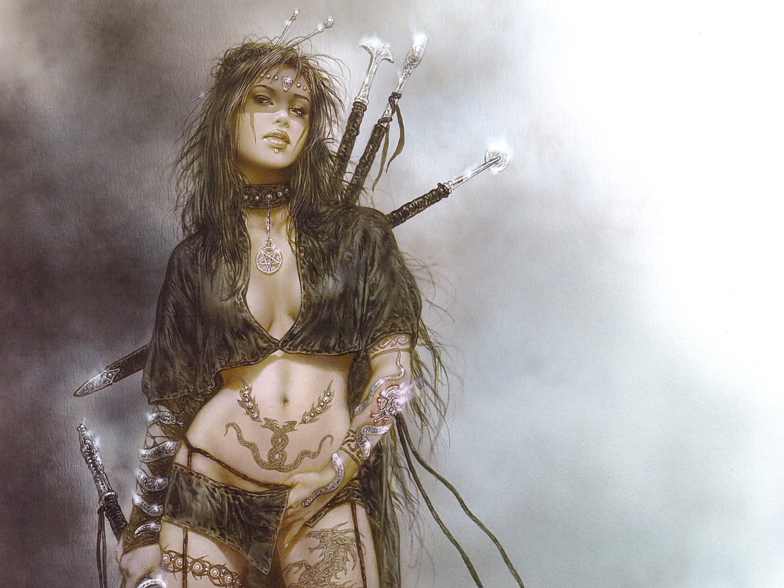 The amazing adventures with fantasy worriers unique - Fantasy female warrior artwork ...