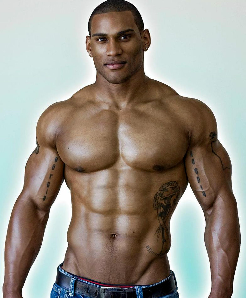 from Kayson body builder gay man