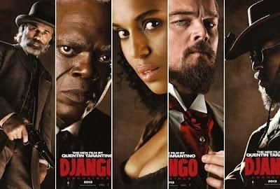 Leonardo Django Foxx Waltz Samuel L. Jackson Tarantino