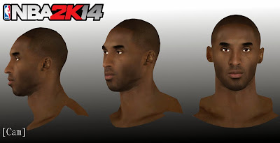 NBA 2K14 Kobe Bryant Face & Tattoos Update