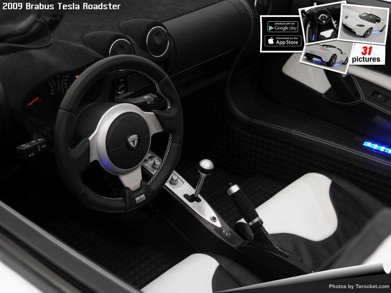Hình ảnh xe ô tô Brabus Tesla Roadster 2009 & nội ngoại thất