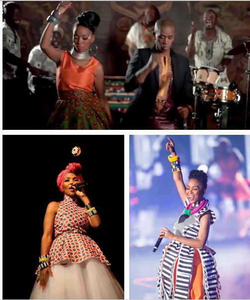 Mafikizolo's Nhlanhla Nciza's african style