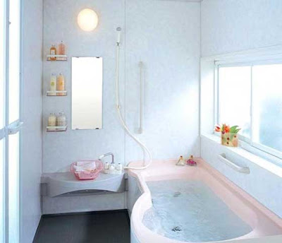 Simple Bathroom Decoration Color Idea