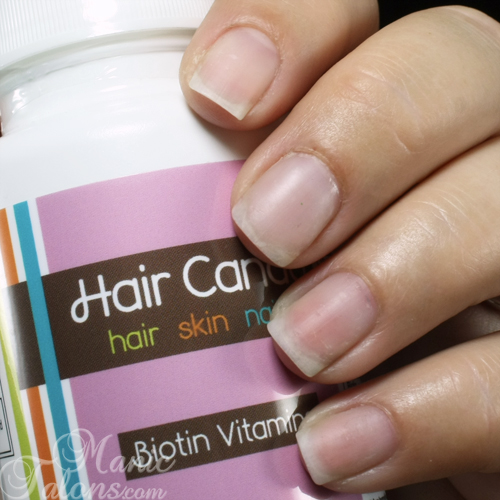 Hair Candy Vitamins Nail Progress Week 3