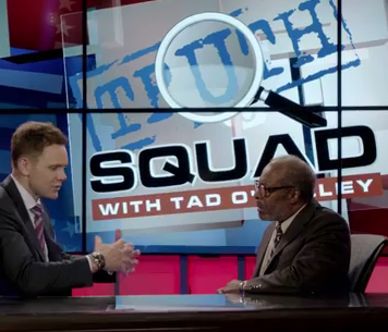 tad o malley In season 10, joel mchale played tad o'malley, a conservative conspiracy theorist whose wild claims were occasionally right tad disappeared between seasons, as alex jones and other figures he's based on have been granted new credibility through trump's approval instead, the 11th season opens.