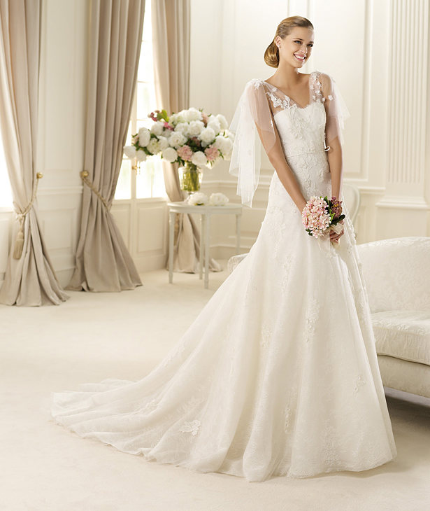 Manuel Mota Wedding Dresses 2013 for Pronovias