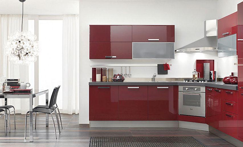 Cocinas italianas modernas record cucine ideas para for Muebles de esquina para cocina