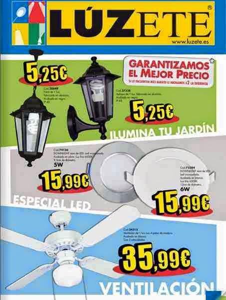 catalogo luzete junio 2014 españa