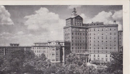CINCINNATI POSTCARDS: Christ Hospital and Nurses' Home