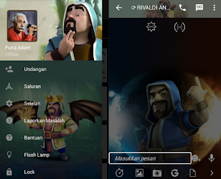 BBM Mod Wizard Clash of Clans v2.10.0.35 Apk
