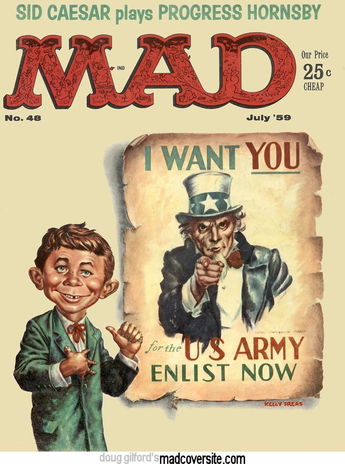 bwillackers: Site Saturday: Every MAD Magazine cover ever