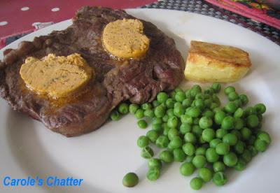 Cafe de Paris butter on steak