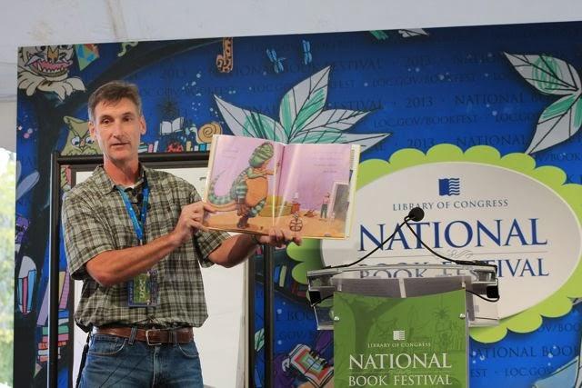 Mark Teague National Book Festival via www.happybirthdayauthor.com