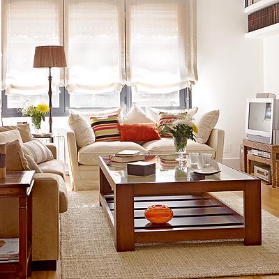Salon clasico decorar tu casa es for Cortinas para salon clasico