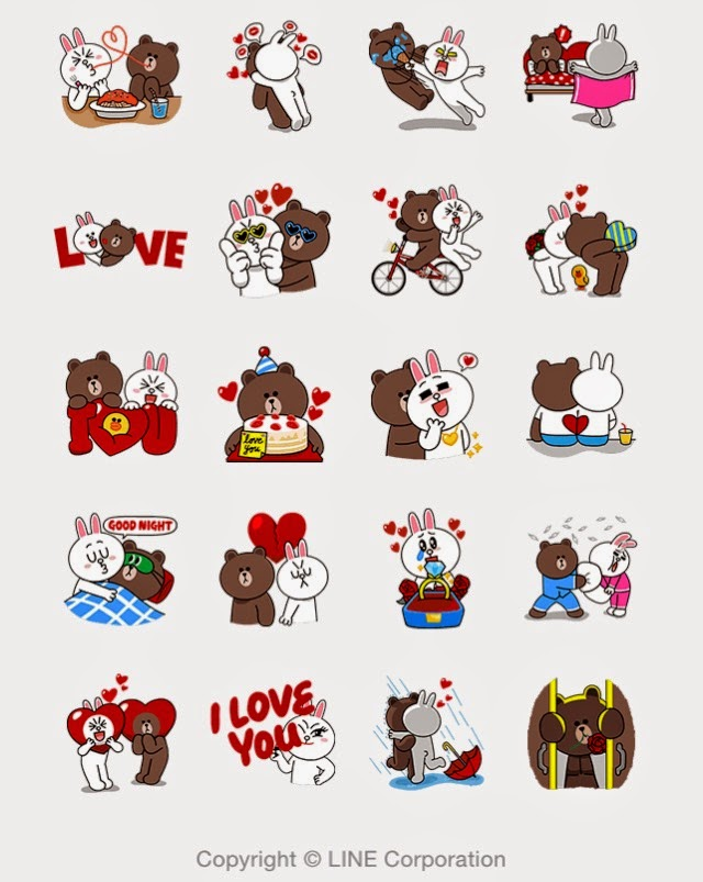 Brown & Cony's Thrilling Date sticker
