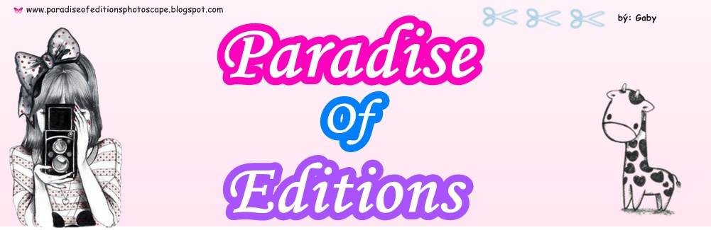 → Paradise Of Editions PhotoScape ←