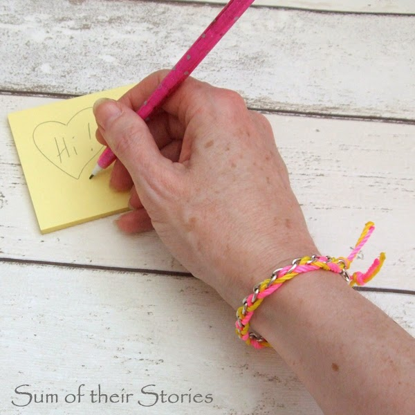 Chain Thread Bracelet Tutorial