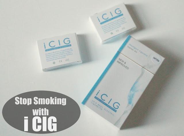 icig electronic cigarette starter kit review