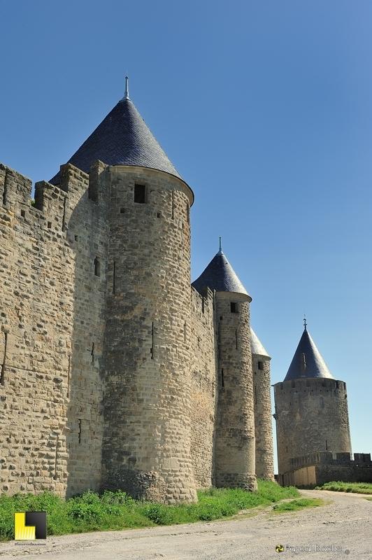 Dans les lices de la cité de Carcassonne photo blachier pascal au delà du cliché