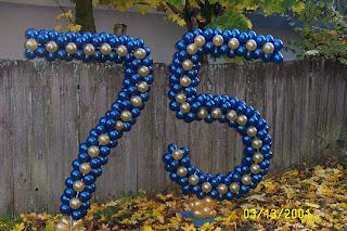 balon karakter - angka