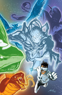 White Lantern Kyle Rayner on the cover of Lights Out Part 3