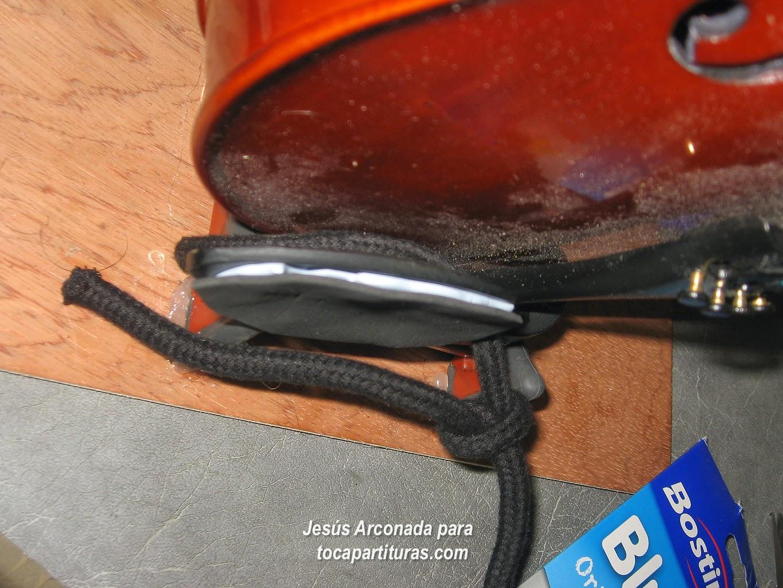 cómo hacer que la barbada de vuestro violín sea más práctico y podáis tener mejor digitación en el violín y viola