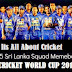 Team Sri Lanka at ICC Cricket World Cup 2015